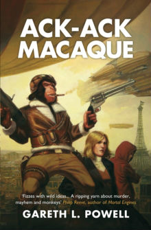 Gareth L Powell - Science Fiction Author - Ack Ack Macaque