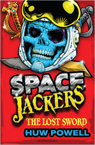 Huw Powell - Author - Space Jackers - The lost sword