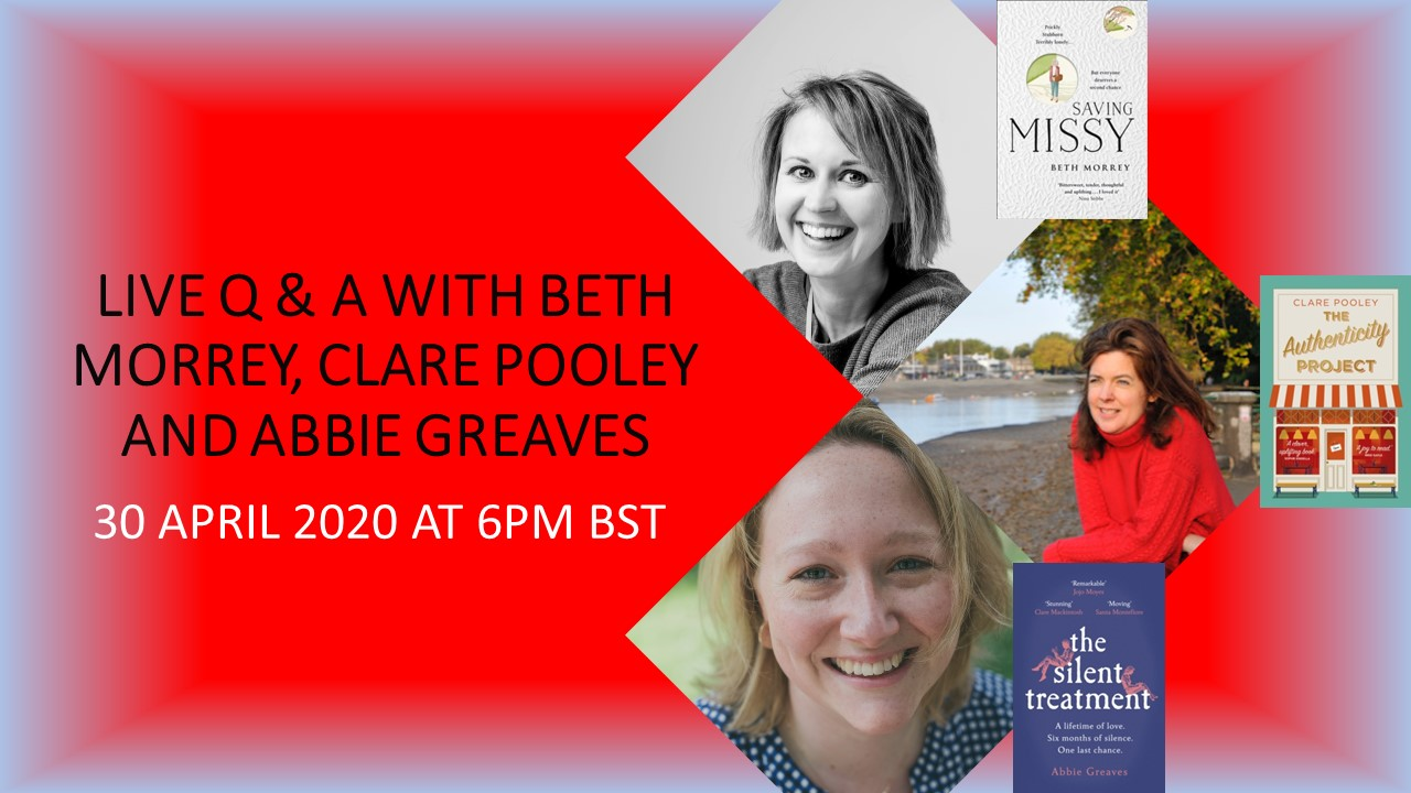 Beth Morrey, Clare Pooley, Abbie Greaves - Authors